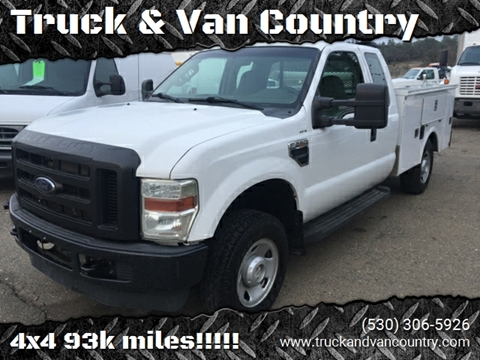 2008 Ford F-250 Super Duty XL for sale at Truck & Van Country in Shingle Springs CA