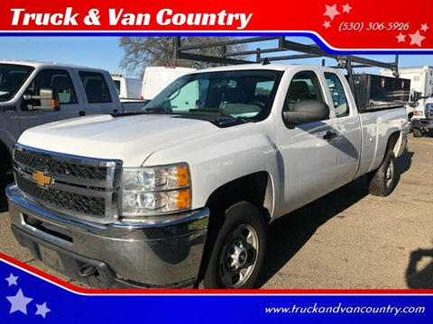 2012 Chevrolet Silverado 2500HD Work Truck for sale at Truck & Van Country in Shingle Springs CA