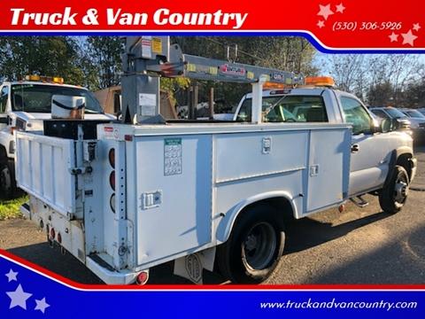 2003 Chevrolet Silverado 3500 for sale at Truck & Van Country in Shingle Springs CA