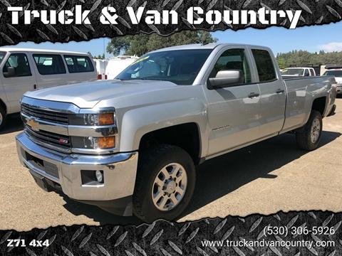 2015 Chevrolet Silverado 2500HD LT for sale at Truck & Van Country in Shingle Springs CA