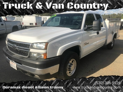 2007 Chevrolet Silverado 2500HD Classic for sale at Truck & Van Country in Shingle Springs CA