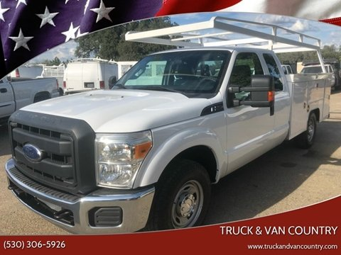 2013 Ford F-250 Super Duty XL for sale at Truck & Van Country in Shingle Springs CA