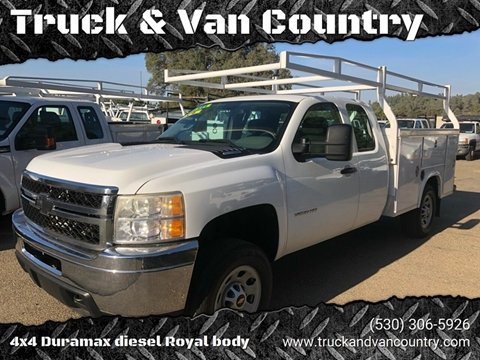 2011 Chevrolet Silverado 3500HD Work Truck for sale at Truck & Van Country in Shingle Springs CA