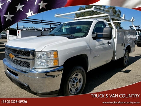2014 Chevrolet Silverado 2500HD Work Truck for sale at Truck & Van Country in Shingle Springs CA