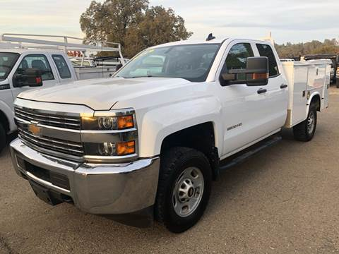 2017 Chevrolet Silverado 2500HD Work Truck for sale at Truck & Van Country in Shingle Springs CA
