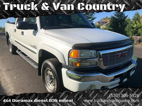 2005 GMC Sierra 2500HD SLT for sale at Truck & Van Country in Shingle Springs CA