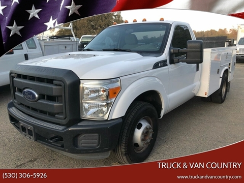 2013 Ford F-350 Super Duty XL for sale at Truck & Van Country in Shingle Springs CA