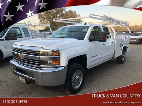 2015 Chevrolet Silverado 2500HD Work Truck for sale at Truck & Van Country in Shingle Springs CA