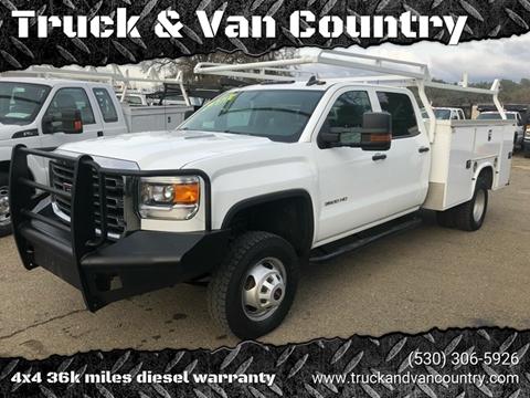 2015 GMC Sierra 3500HD for sale at Truck & Van Country in Shingle Springs CA