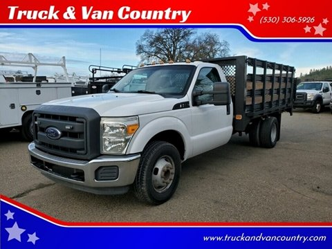 2012 Ford F-350 Super Duty XL for sale at Truck & Van Country in Shingle Springs CA