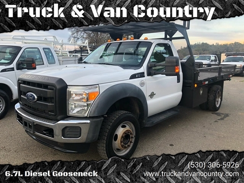 2012 Ford F-550 Super Duty for sale at Truck & Van Country in Shingle Springs CA