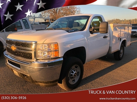 2011 Chevrolet Silverado 2500HD for sale at Truck & Van Country in Shingle Springs CA