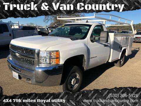 2009 Chevrolet Silverado 2500HD Work Truck for sale at Truck & Van Country in Shingle Springs CA