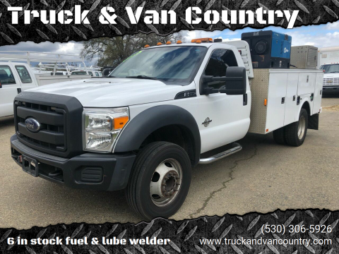 2014 Ford F-550 Super Duty for sale at Truck & Van Country in Shingle Springs CA