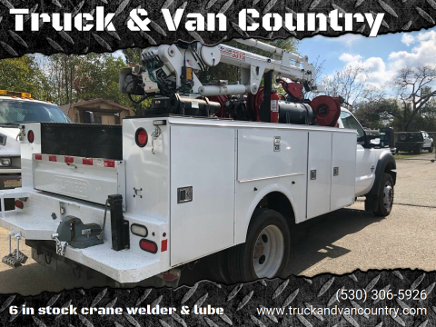 2015 Ford F-550 Super Duty for sale at Truck & Van Country in Shingle Springs CA