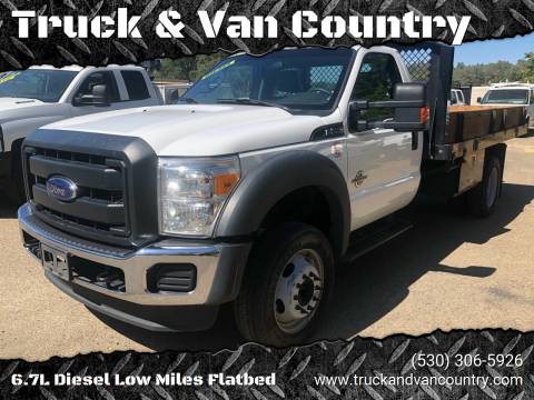 2016 Ford F-550 Super Duty for sale at Truck & Van Country in Shingle Springs CA