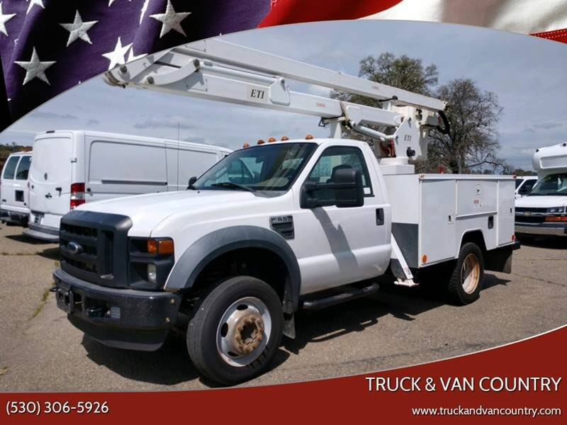 2009 Ford F-550 Super Duty for sale at Truck & Van Country in Shingle Springs CA