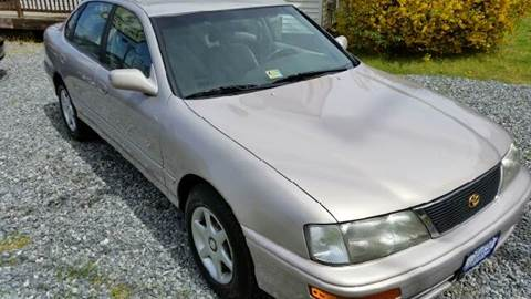 1997 Toyota Avalon for sale at Premier Auto Sales Inc. in Newport News VA