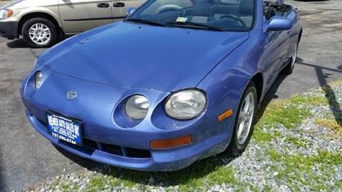 1995 Toyota Celica for sale at Premier Auto Sales Inc. in Newport News VA