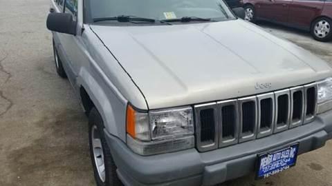 1996 Jeep Grand Cherokee for sale at Premier Auto Sales Inc. in Newport News VA