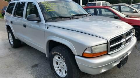 2003 Dodge Durango for sale at Premier Auto Sales Inc. in Newport News VA
