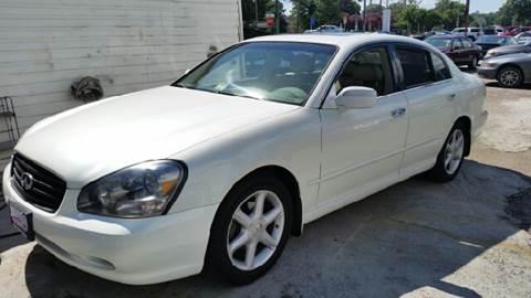 2003 Infiniti Q45 for sale at Premier Auto Sales Inc. in Newport News VA