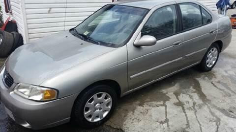 2002 Nissan Sentra for sale at Premier Auto Sales Inc. in Newport News VA