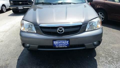 2002 Mazda Tribute for sale at Premier Auto Sales Inc. in Newport News VA