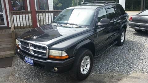 2002 Dodge Durango for sale at Premier Auto Sales Inc. in Newport News VA