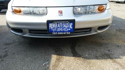 2002 Saturn S-Series for sale at Premier Auto Sales Inc. in Newport News VA