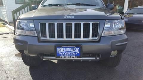 2004 Jeep Grand Cherokee for sale at Premier Auto Sales Inc. in Newport News VA