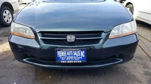 2000 Honda Accord for sale at Premier Auto Sales Inc. in Newport News VA