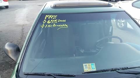 1998 Nissan 200SX for sale at Premier Auto Sales Inc. in Newport News VA