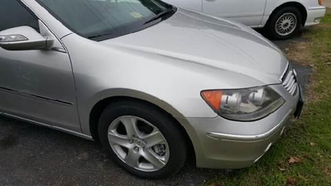 2005 Acura RL for sale at Premier Auto Sales Inc. in Newport News VA