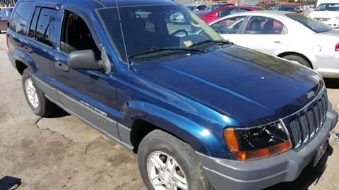 2002 Jeep Grand Cherokee for sale at Premier Auto Sales Inc. in Newport News VA