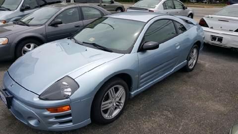 2003 Mitsubishi Eclipse for sale at Premier Auto Sales Inc. in Newport News VA