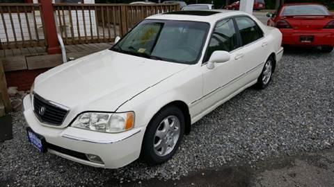 2002 Acura RL for sale at Premier Auto Sales Inc. in Newport News VA