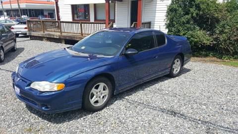 2004 Chevrolet Monte Carlo for sale at Premier Auto Sales Inc. in Newport News VA