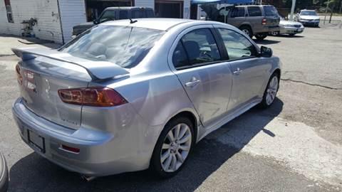 2008 Mitsubishi Lancer for sale at Premier Auto Sales Inc. in Newport News VA