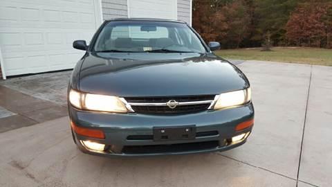1998 Nissan Maxima for sale at Premier Auto Sales Inc. in Newport News VA
