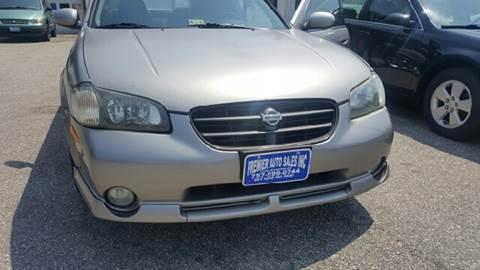 2001 Nissan Maxima for sale at Premier Auto Sales Inc. in Newport News VA