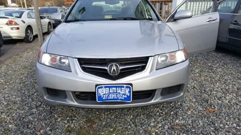2004 Acura TSX for sale at Premier Auto Sales Inc. in Newport News VA