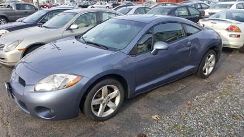 2007 Mitsubishi Eclipse for sale at Premier Auto Sales Inc. in Newport News VA