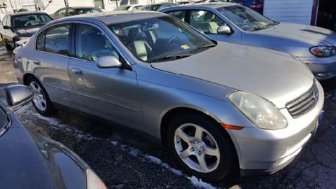 2003 Infiniti G35 for sale at Premier Auto Sales Inc. in Newport News VA