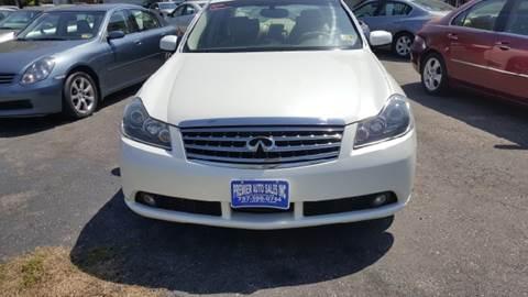 2006 Infiniti M35 for sale at Premier Auto Sales Inc. in Newport News VA