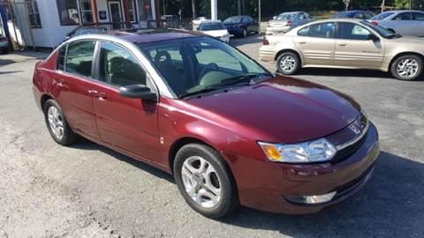 2003 Saturn Ion for sale at Premier Auto Sales Inc. in Newport News VA
