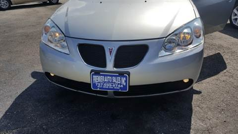 2009 Pontiac G6 for sale at Premier Auto Sales Inc. in Newport News VA