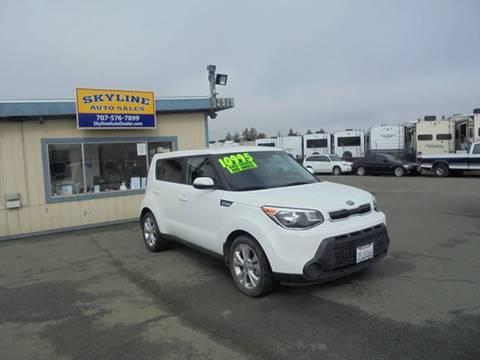 Kia Santa Rosa >> Kia Soul For Sale In Santa Rosa Ca Skyline Auto Sales