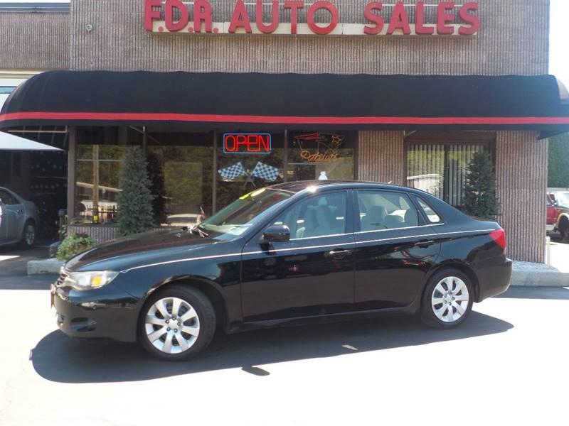 2009 Subaru Impreza AWD 2.5i 4dr Sedan 4A - Springfield MA