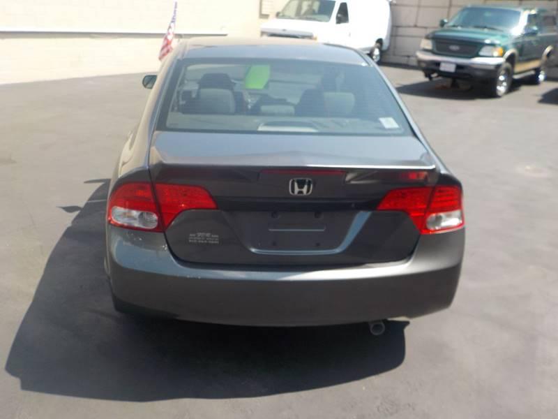 2009 Honda Civic LX 4dr Sedan 5A - Springfield MA